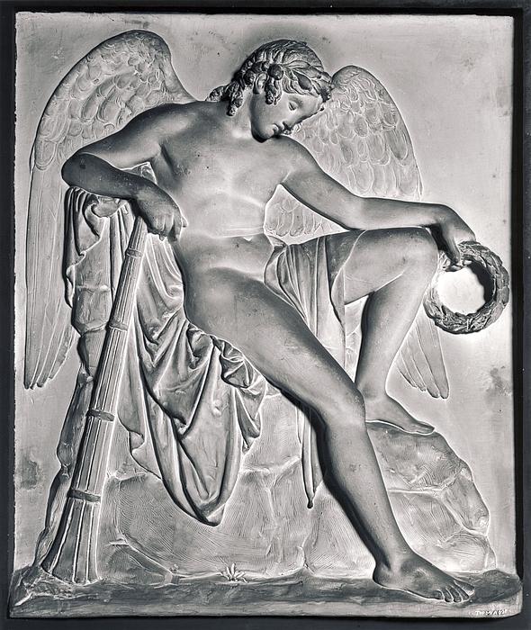 Dødens genius til gravmæle over Wlodzimierz Potocki