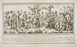 Nicolaus Dorigny efter Rafael: Gudernes forsamling på Olympen (Copyright tilhører Thovaldsens Museum)