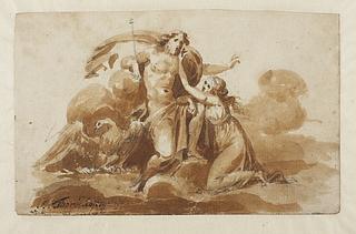 Diana bønfalder Jupiter om at måtte forblive mø og hellige sig jagtlivet