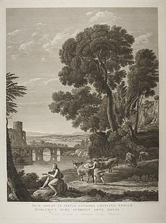 Landskab med Apollo og Merkur som stjæler Admetus' kvæg