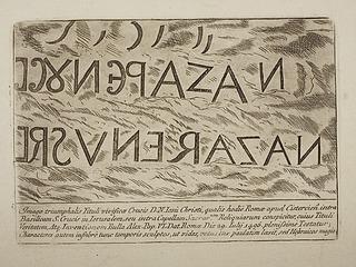 Hebraisk indskrift