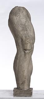 Et bøjet højre ben