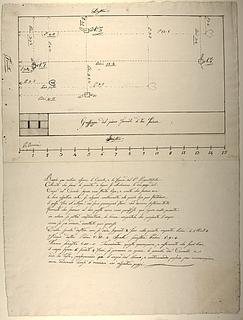 Plint til Józef Poniatowskis statue, plan