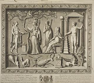 The Corbridge Lanx; Vesta, Apollo, Ceres, Minerva og Diana