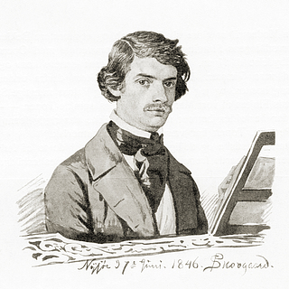 Portræt af den italienske kapelmester Paolo Sperati