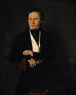 Portræt af digteren Ludvig Bødtcher