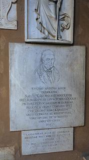 J.A. Koch, grav, Campo Santo Teutonico