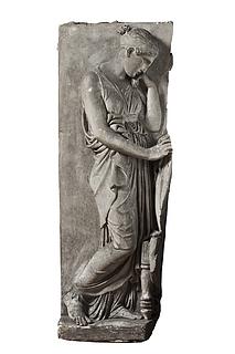 Sørgende kvinde, til gravmæle over Johann Philipp Bethmann-Hollweg