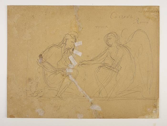 Amor og Ganymedes spiller Terre