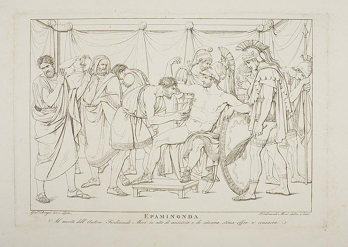 Epaminondas død