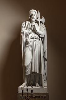 Judas Thaddæus, marmor, Vor Frue Kirke
