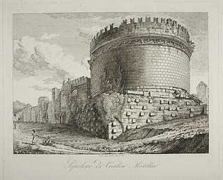 Sepolcro di Cecilia Metella ( Mausoleum for Cecìlia Metèlla  )