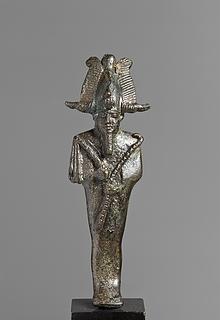 Statuette af Osiris. Romersk