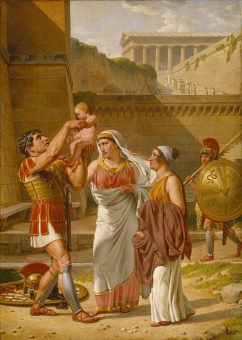 Hektors afsked med Andromache og Astyanax