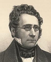 Em. Bærentzen: C.J. Boye, 1843, udsnit
