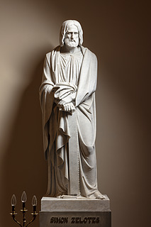 Simon Zelotes, marmor, Vor Frue Kirke