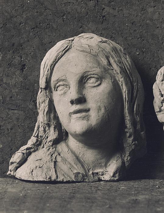 Hovedet af Jeanina Stampe
