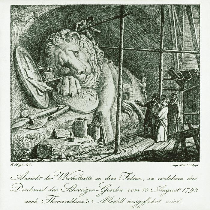 Franz Hegi: Schweizerløven