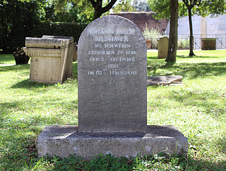 Gravmæle for J.J. Busch, Cimitero Acattolico, parte antica, no. 36