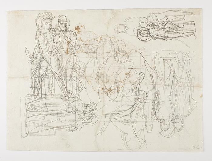 Diomedes med Palladiet og Odysseus. Amor og Psyche