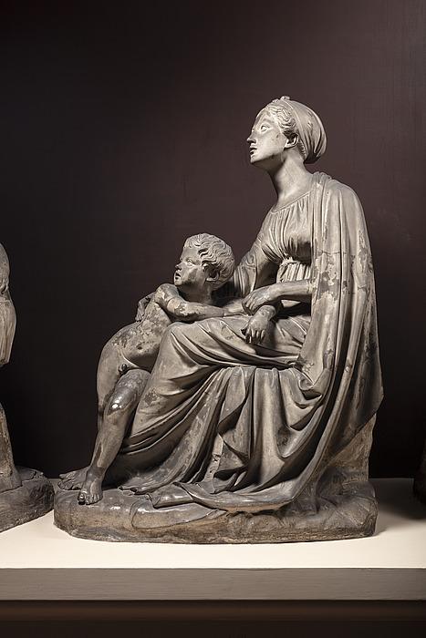 En mor med sit barn