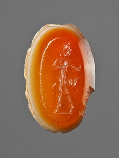 Dansende pige. Hellenistisk-romersk ringsten