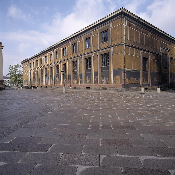 Thorvaldsens Museum, facaderne mod sydøst og nordøst