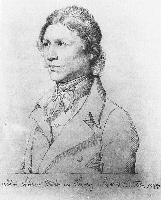 Julius Schnorr von Carolsfeld: Selvportræt, 1820