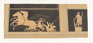 Amorin falder af sin væddeløbsvogn. Herkules