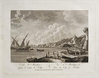 Veduta di Marechiano apresso il Capo di Posilipo (Marechiaro i Posillipo bugten)
