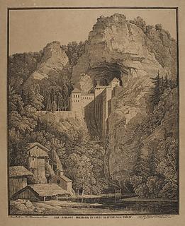 Slottet Prediama ved Triest