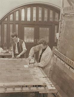 Risager i Havnerådssalen på Københavns Rådhus - Copyright tilhører Thorvaldsens Museum