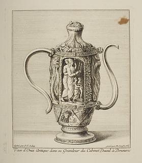 Vase d'Onix antique ( Vase med antikt motiv )