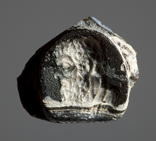 Portræt af en græsk filosof. Hellenistisk-romersk paste