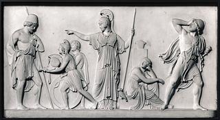 Odysseus får Achilleus' våben