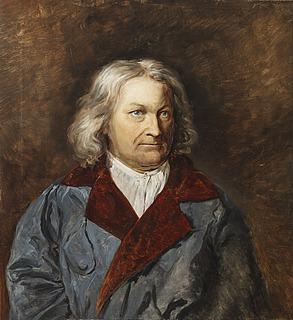 Dahl og Saleh: Portræt af Thorvaldsen, 1841 - Copyright tilhører Thorvaldsens Museum
