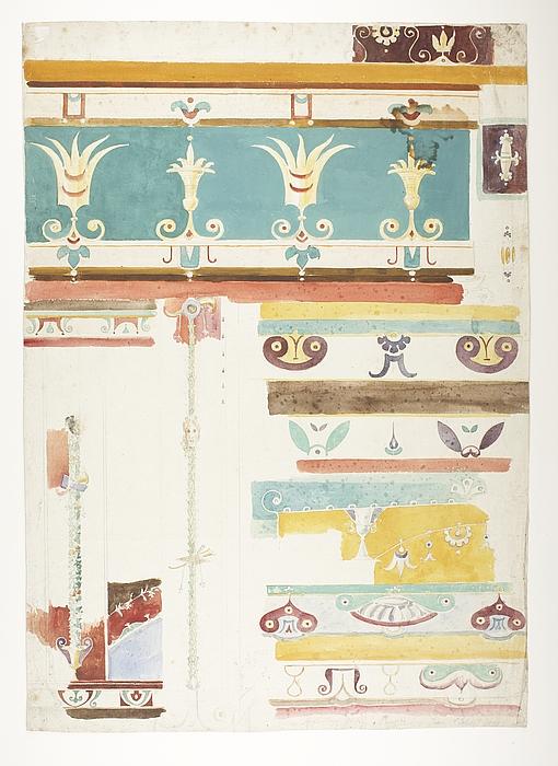 Ornamenter fra Pompeji